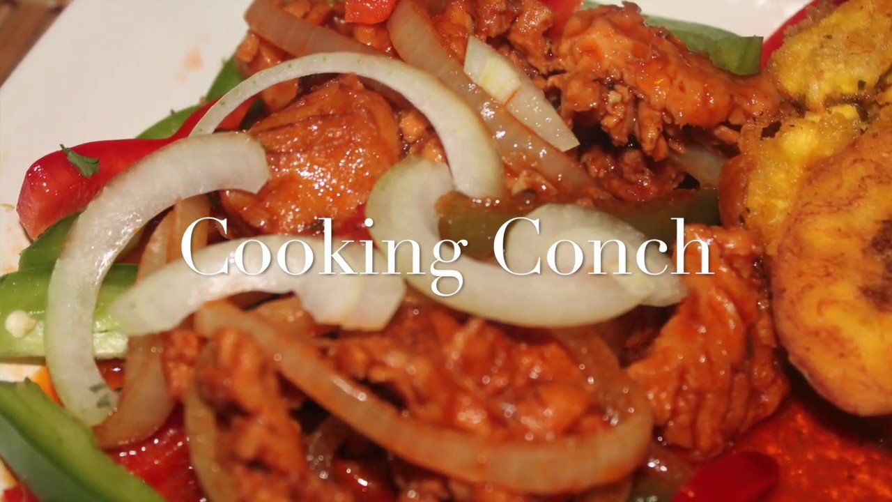 how to cook frozen conch