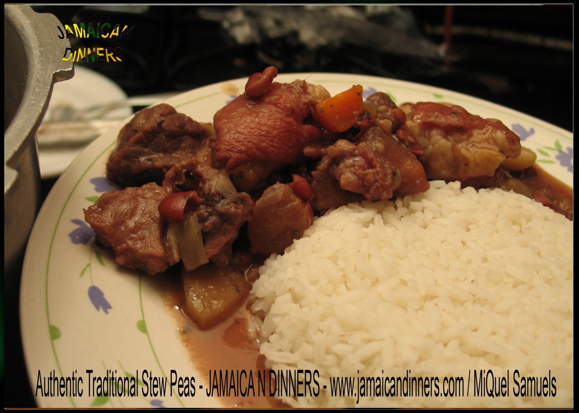 how to cook stew peas