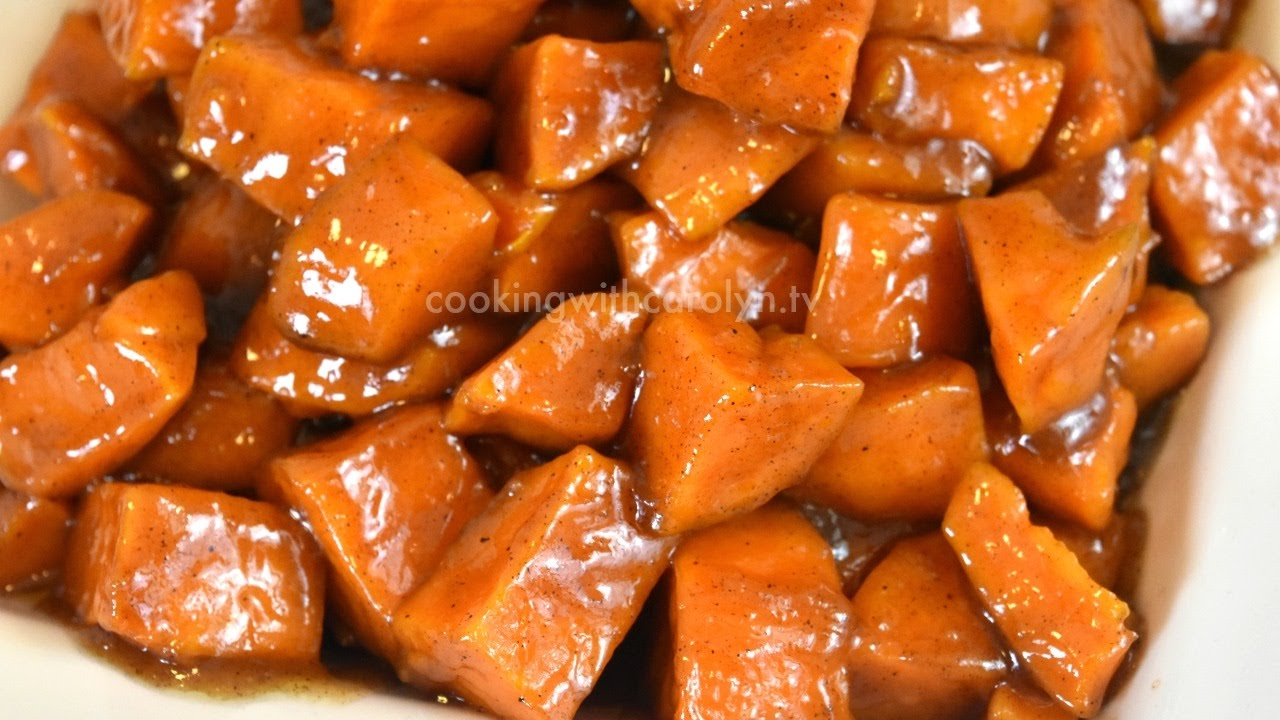 candied yams recipe good ol 39 down home cookin 39 soul food recipe holiday series black food. Black Bedroom Furniture Sets. Home Design Ideas